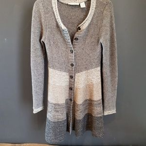 Autumn Cashmere Striped Cardigan